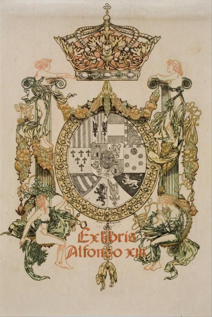 Alexandre_de_Riquer Alfons_XIII